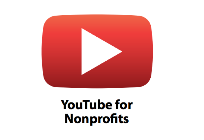 YouTube non-profit grants